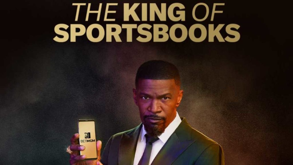 Jamie Foxx starred in a big-bucks advertising campaign which tabbed BetMGM as the 'King of Sportsbooks'.